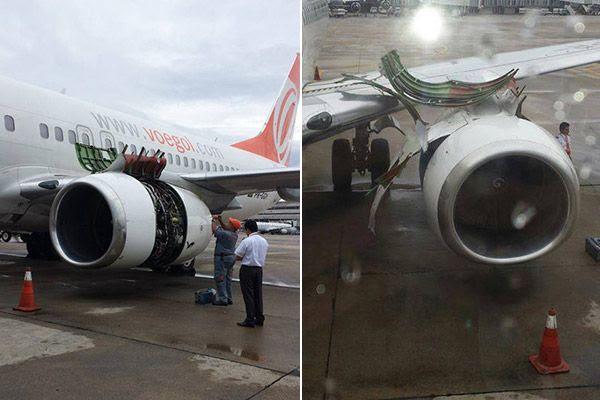 Pouso ocorreu no aeroporto do Galeão