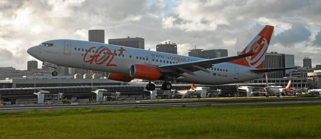 Avião da Gol decola no Santos Dumont: a Anac, que regula o setor aéreo, é alvo de críticas de órgãos de defesa do consumidor - Dado Galdieri / Dado Galdieri/Bloomberg/19-12-2013