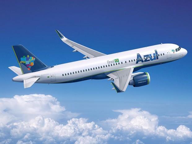 Aviões serão usados para voos nacionais de maior distância (Foto: Divulgação/Airbus)
