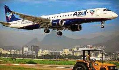 Flórida. Jato da Azul pousa no Rio: forte no regional, aérea amplia voos para EUA
