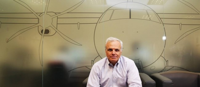 Neeleman na sede da Azul, em São Paulo:executivo estuda levar jatos da Embraer para o braço regional da TAP e promete novos destinos para o Brasil