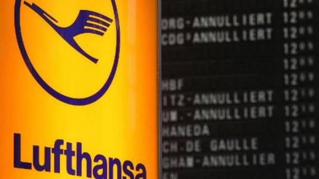 Lufthansa: a Lufthansa caía 7,35 por cento após emitir um alerta de lucros, com as concorrentes Air France-KLM e easyJet também em queda