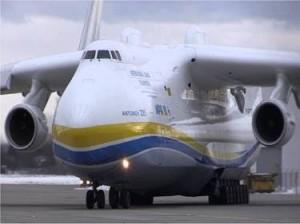 Antonov Mriya An-225, maior avião do mundo. Reprodução / Youtube
