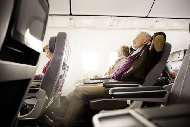 A pressão diferente e a baixa umidade são os principais responsáveis pelo desconforto na cabine (Lufthansa)
